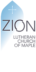 Zion Lutheran Church of Maple Logo