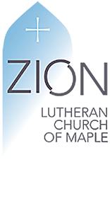 Zion Lutheran Church of Maple Logo